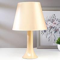 Лампа настольная 13204 1хЕ27 15Вт бежевый d=22 см, h=34,5 см