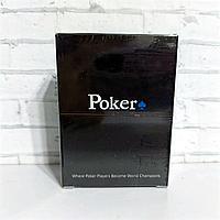 Карты 100% пластик игральные для покера Poker 54 шт 32 мкр