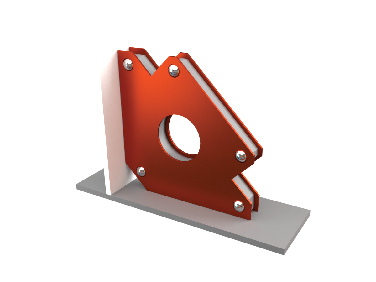 Угольник .магнитный МС–34 (QJ6003)