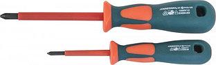 Отвертка стержневая крестовая диэлектрическая, PH2х100 мм DV13P2100