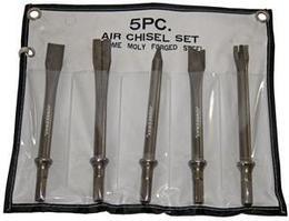 Комплект насадок длинных для пневматического молотка (JAH-6832/6833/H), 5 предметов JAZ-3945H
