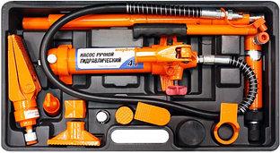Набор гидравлического инструмента для кузовного ремонта 4 т. 18 предметов OHT948M