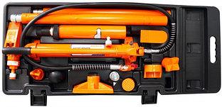 Набор гидравлического инструмента для кузовного ремонта 10 т. 17 предметов OHT918M