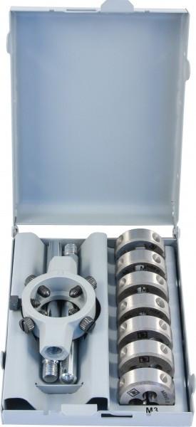 Набор плашек D-COMBO круглых ручных М3-М12, HSS, 8 предметов MDS8