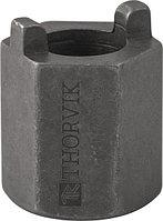Насадка торцевая 22 мм HDR с радиусными шипами для монтажа/демонтажа амортизационных стоек автомобилей VAG