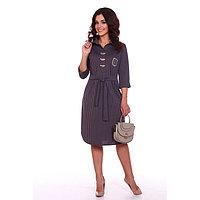 Платье женское «Блис», цвет серый, размер 46