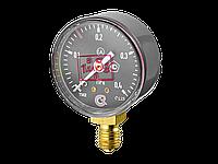 TM-210P.00(0-0,4МРа)М12х1,5.2,5 C2H2 МАНОМЕТР 50 мм, ТИП- TM-210P,M12х1,5 (снизу),0-0,4МРа, кл.2,5