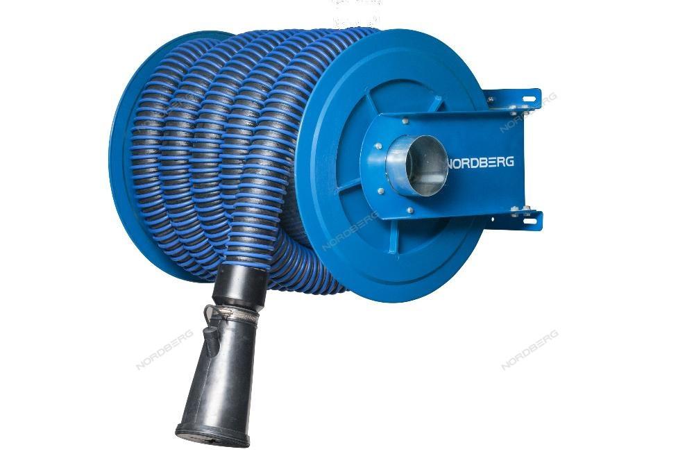 NORDBERG КАТУШКА H6075125 для сбора выхлопных газов под шланг D=75мм