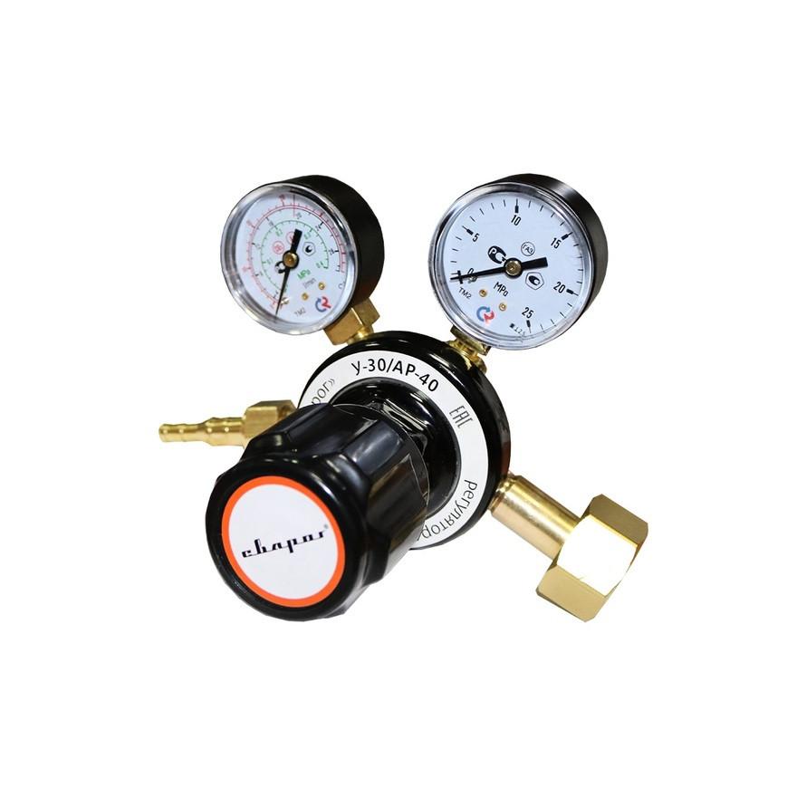 Регулятор расхода газа универсальный  Сварог У-30/АР-40 (М66 AR-CO2)