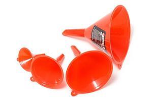 (F-887FU4) Набор воронок пластиковых, 4пр.(Ø:45, 65, 90, 115мм,L:60, 90, 125,155мм)