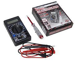 (F-88463) Набор диагностический для электрика (цифровой мультиметр, индикаторная отвертка)