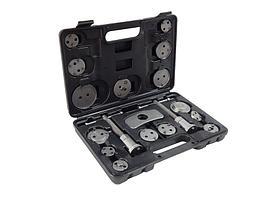 (F-65805) Набор для обслуживания тормозных суппортов 18пр.(привод с правосторонней/левосторонней резьбой в