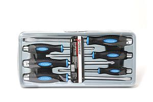 "(F-2069(New)) Набор отверток силовых магнитных ""Profi"" S2, 6пр. (PH:2x100, 3x150мм; SL 5.5х125, 6.5х150,"