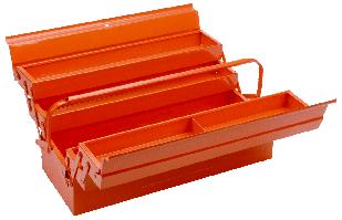Ящик металл. 5-секционный 530*200*200мм.