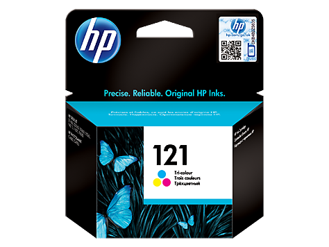 HP CC643HE Картридж трехцветный, HP 121