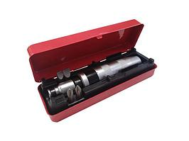 """(FK-5064) Отвертка ударная с набором бит и адаптером, 6пр 1/2""""(F)х5/16""""(F) (PH2,3х36мм; SL9,11х36мм) в метал."""