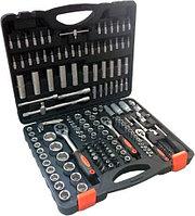 """(PA-40172) Набор инструмента 172пр. 1/4""""&1/2""""& 3/8""""  (6-гран.)(4-32мм)"""