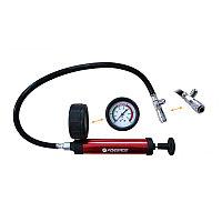 (F-922G1-P) Насос ручной с манометром для тестирования герметичности систем охлаждения(0-2,5bar)