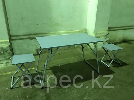 Стол полевой раскладной со стульями (армейский полевой стол), фото 2