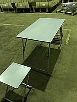 Стол полевой раскладной со стульями (армейский полевой стол), фото 3