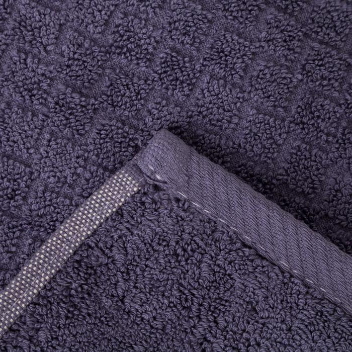 КМП в коробке Dinamik 50х90,70х140 см, фиолетовый, хлопок 100%, 500 гр/м - фото 3