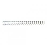 Пружины для переплета ПВХ, D-45 мм, белая