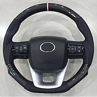 Руль карбон на Toyota Hilux/Revo 2016-21