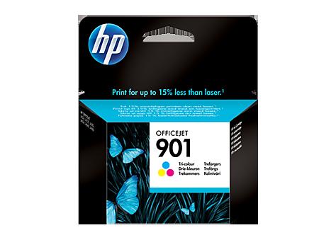HP CC656AE Картридж трехцветный, HP 901