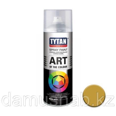Краска золотая аэрозольная глянцевая 400мл TYTAN