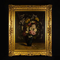 «Натюрморт с цветами» Автор L. Valter