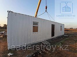 Модульное офисное здание жилое из 40 фут. контейнера