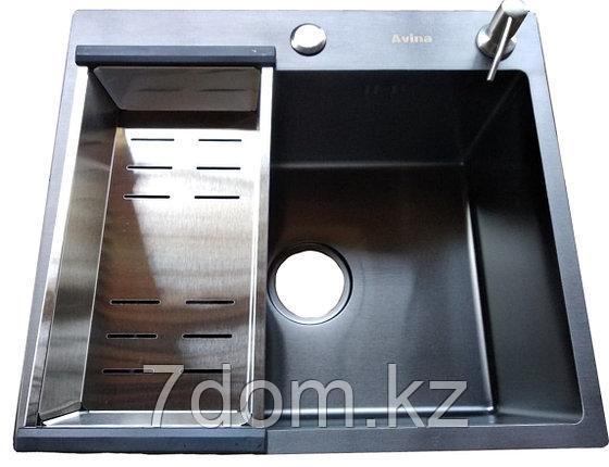 Мойка Avina 45x48 черный, фото 2