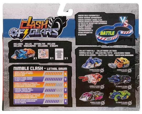 Боевая машинка Ultimate Clash Of Gears Лизалдрам - фото 6