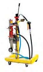 Устройство для сбора масла с пневматическим насосом на тележке для бочек 50-60 л Meclube 042-1410-000
