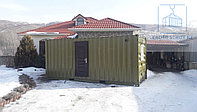Жилой вагончик дом на базе 20 фут. контейнера, фото 1