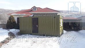 Жилой вагончик дом на базе 20 фут. контейнера
