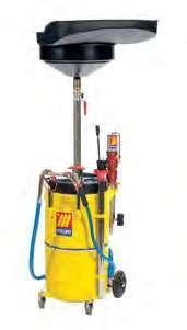 Пневматическое устройство 90 л для слива и откачки масла с пневматическим насосом Meclube 042-1412-000