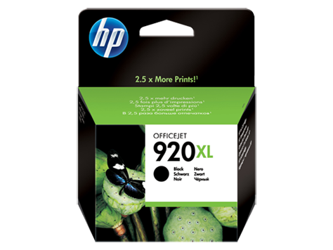 HP CD975AE Картридж черный HP 920XL