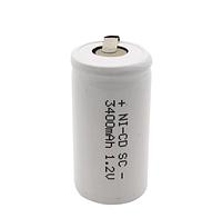 Никель-кадмиевые батарейки 4,2 см x 2,3 см к машинкам Wahl, Moser, Oster, Ermila