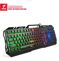 Игровая клавиатура K20 Mechanical Backlit Aura USB Wired Anti-Ghosting Gaming Keyboard.