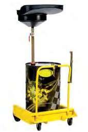 Устройство для слива масла для бочек 180-220 л на тележке Meclube 045-1475-000