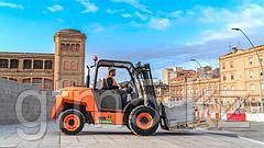 Испанский производитель AUSA дополнил линейку городским погрузчиком