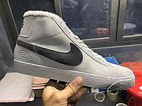 Кроссовки Зимние Nike Blazer Mid 77 Suede Winter