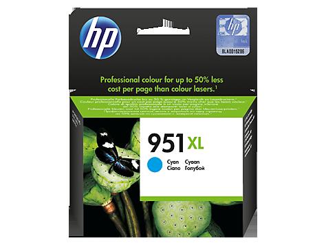 HP CN046AE Картридж голубой, HP 951XL.