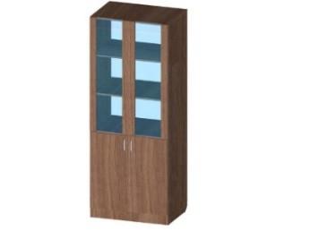 Шкаф конторский 800x450x1800
