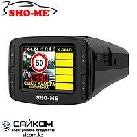 SHO-ME COMBO №3 iCatch (3в1) Видеорегистратор с Радар Детектором и GPS