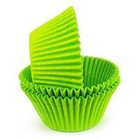 Капсулы для капкейков (100 шт) Зеленый