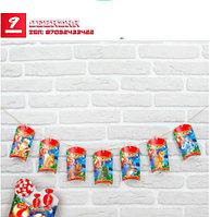 Гирлянда новогодняя «7 дней до Нового года»