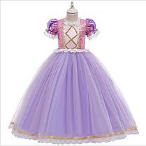 Карнавальное розовое платье Принцессы Рапунцель