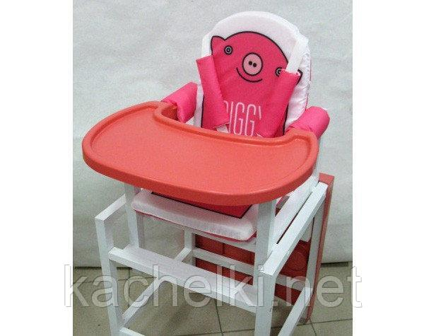BABYS Стул-стол для кормления PIGGY Розовый